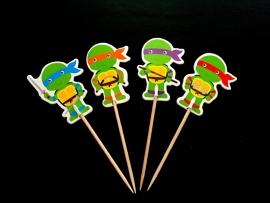 Turtles cocktailprikker