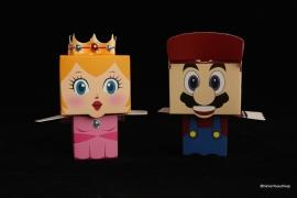 Super Mario en Prinses traktatiedoosje
