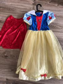 Sneeuwwitje jurk Disney met cape - maat 128