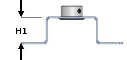 Vibramount Wand/Plafond Beugel H25/M8