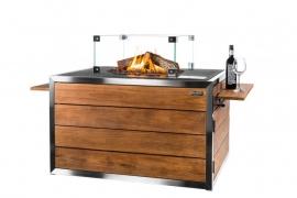 Cocoon Table RVS/Teak Lounge & Dining rechthoek