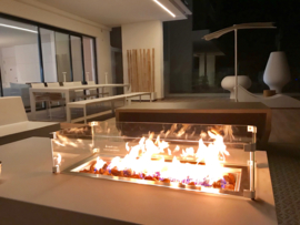 Inbouwbrander 76x26 cm