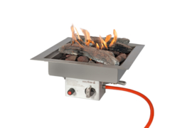 Inbouwbrander Easyfires 40x40cm