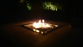 Happy Cocooning Inbouwbrander vierkant