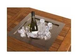 Losse inbouw wijnkoeler vierkant