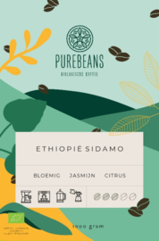 Ethiopië Sidamo BIO/FT