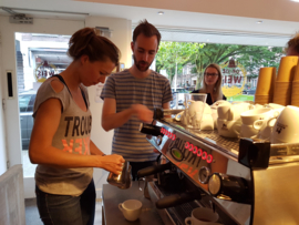 Barista workshop and Latte art workshop