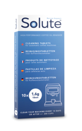 Solute reinigingstabletten   10x 1,6g Ø18mm o.a. voor Sage