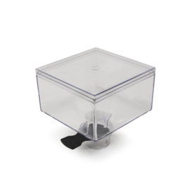 Eureka Mignon hopper, 300 gram, transparant