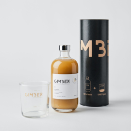 Gimber 500ML + Gimber branded glass