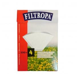 Filtropa koffiefilters maat 4, 100 stuks