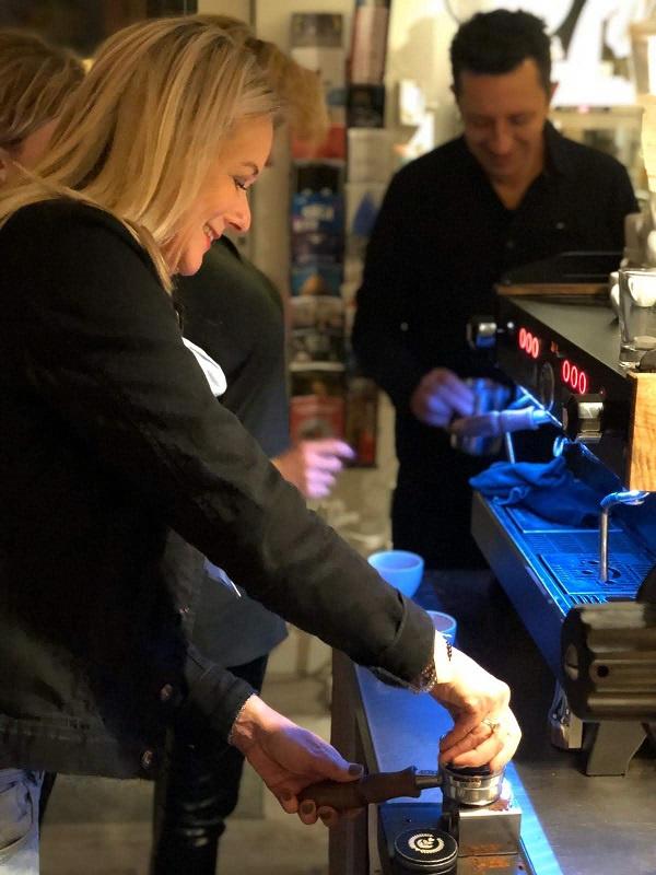 Barista workshop and Latte art workshop