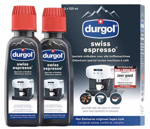 durgol swiss espresso 3 x 125 ml o.a. voor Jura