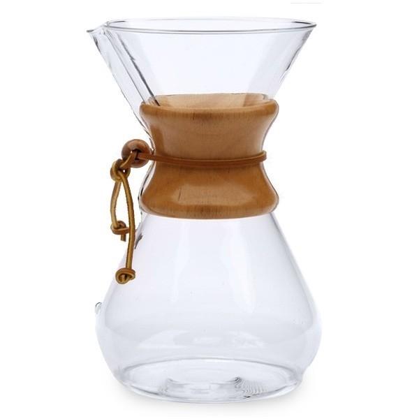 Classic Chemex 6-cup coffeemaker
