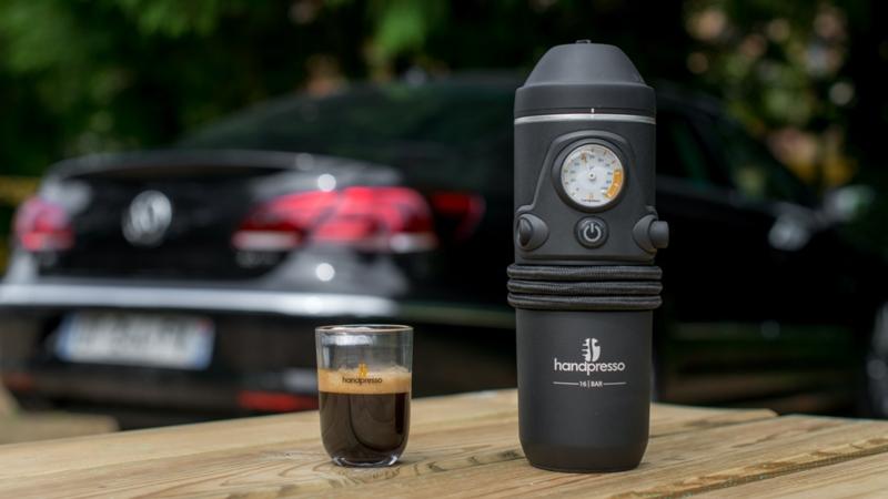 Handpresso Auto voor gemalen koffie en E.S.E. servings