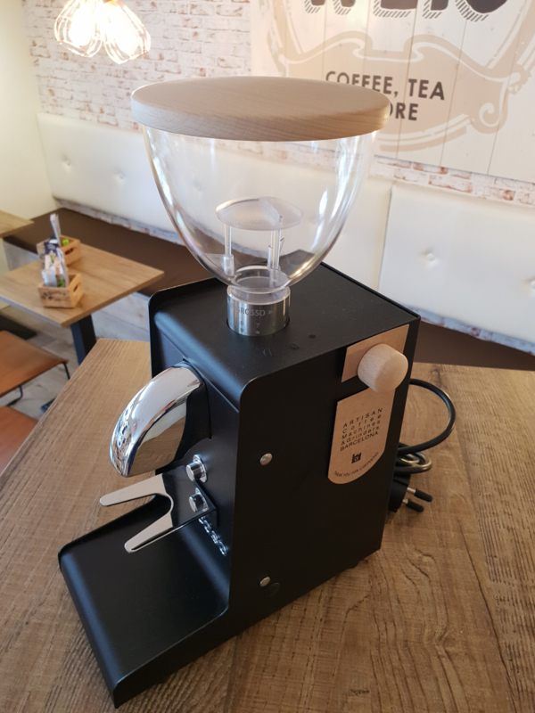 Ascaso I-Steel koffiemolen 250W zwart