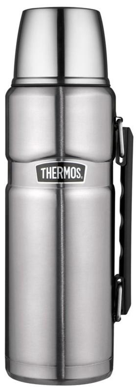 Thermos King SS fles 1,2L Hammertone RVS