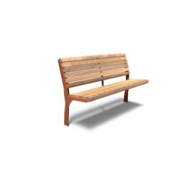 Cortenstaal zitbank 'Libra' 1500x573x1107 mm