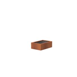 Cortenstaal vijver 120x80x40 cm
