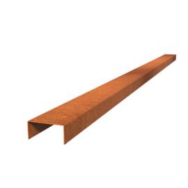 Cortenstaal Overzet Profiel 10 stuks a 2300x104x50  (23 m lengte)