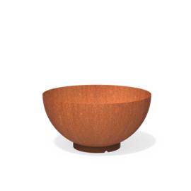 Cortenstaal plantenbak rond -  schaal Ø1000xH505 mm