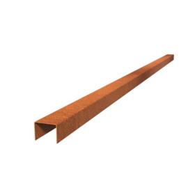 Cortenstaal Overzet Profiel 10 stuks a 2300x64x50 (23 m lengte)