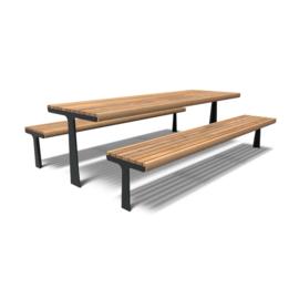 Gecoate picknickset 'Manuel' 2400x2200x900