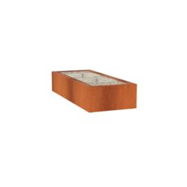 Watertafel 'Lucca' 200x80x40 cm incl. ledverlichting & pomp