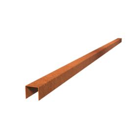 Cortenstaal Overzet Profiel 10 stuks a 2300x54x50 (23 m lengte)