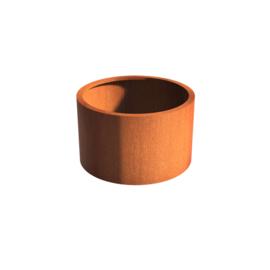 Cortenstaal borderbak (geen bodem) 100x60 cm