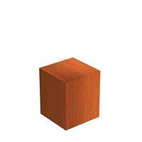 Cortenstaal sokkel 50x50x60 cm