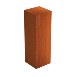 Cortenstaal sokkel 40x40x120 cm