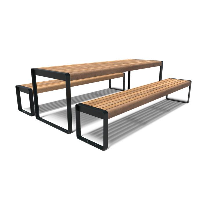 Gecoate picknickset 'Diego' 2400x2070x750