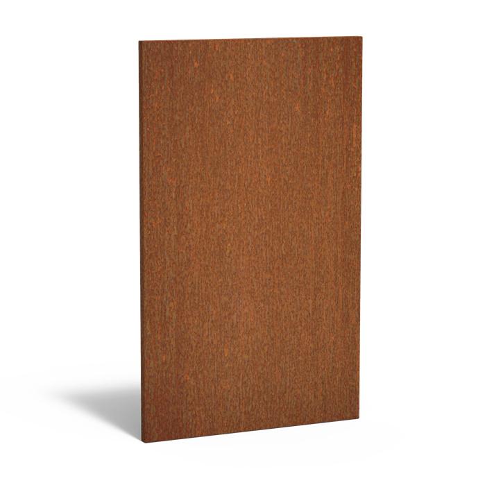 5 stuks Cortenstaal sfeerpaneel 'Natural' 1100x50x1800
