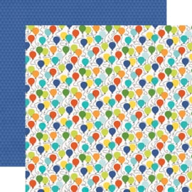 Birthday Blast Birthday Boy Double Sided 12x12""