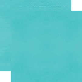 """Teal Textured Cardstock Double Sided 12x12"""""""