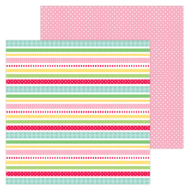 "Gift Wrap  12x12"" Double Sided"