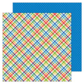 School Days Playground double-sided cardstock