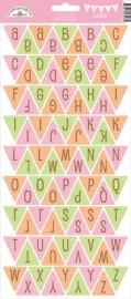 Sugar & Spice Alphabet Stickers