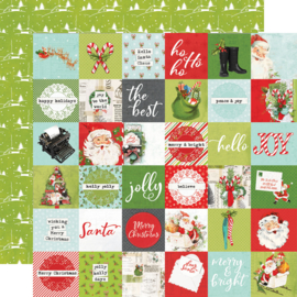 SV North Pole - 2x2 Elements Double Sided 12x12""