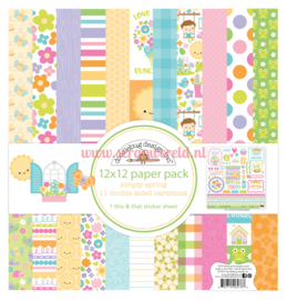 Simply Spring 12x12 Paperpack