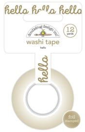 Hello Washi Tape