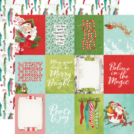 SV North Pole - 3x4 Elements Double Sided 12x12""