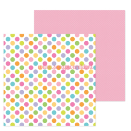 "Dot to Dot 12x12"" Double Sided Cardstock"