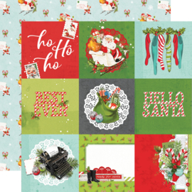 SV North Pole - 4x4 Elements Double Sided 12x12""