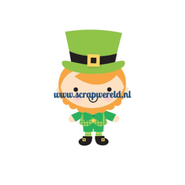 Leprechaun Sweet Rolls Mini Icon Stickers