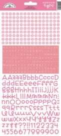 Teensy Type Cardstock Stickers Cupcake