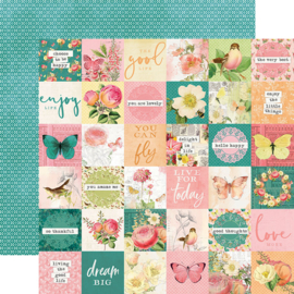 """SV Garden District 2x2 Elements Double Sided 12x12"""""""