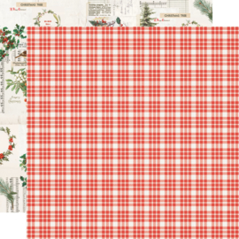 Country Christmas Wonderful Life Double Sided 12x12""