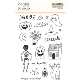 Spooky Nights - Stamps